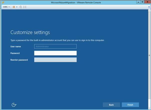 Deploy Appliance Azure Migration _10_10