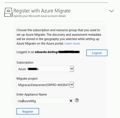 Deploy Appliance Azure Migration _22