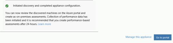 Deploy Appliance Azure Migration _27